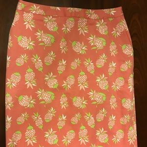 Brooks Brothers ~ 346 ~ Size 6 ~ Pineapple Skirt